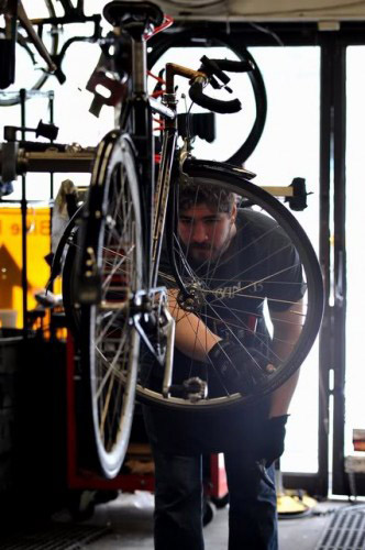 Spring boston bicycle tuneup and repair